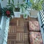 Küçük Balkon Dekorasyonu İçin Örnekler 40