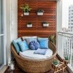 Küçük Balkon Dekorasyonu İçin Örnekler 41