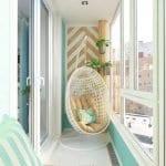 Küçük Balkon Dekorasyonu İçin Örnekler 49