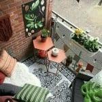 Küçük Balkon Dekorasyonu İçin Örnekler 51
