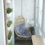 Küçük Balkon Dekorasyonu İçin Örnekler 52