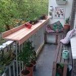 Küçük Balkon Dekorasyonu İçin Örnekler 53
