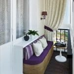 Küçük Balkon Dekorasyonu İçin Örnekler 55