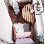 Küçük Balkon Dekorasyonu İçin Örnekler 67