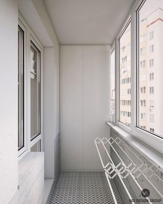 Küçük Balkon Dekorasyonu İçin Örnekler 68