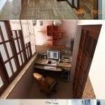 Küçük Balkon Dekorasyonu İçin Örnekler 71