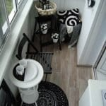 Küçük Balkon Dekorasyonu İçin Örnekler 72
