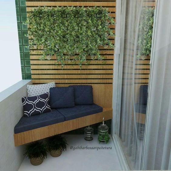 Küçük Balkon Dekorasyonu İçin Örnekler 78
