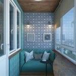 Küçük Balkon Dekorasyonu İçin Örnekler 81