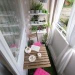 Küçük Balkon Dekorasyonu İçin Örnekler 85