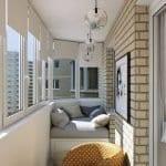 Küçük Balkon Dekorasyonu İçin Örnekler 86
