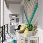 Küçük Balkon Dekorasyonu İçin Örnekler 8
