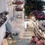 Küçük Balkon Dekorasyonu İçin Örnekler 89