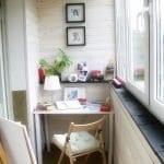 Küçük Balkon Dekorasyonu İçin Örnekler 92