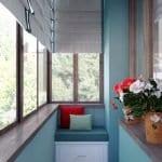 Küçük Balkon Dekorasyonu İçin Örnekler 94