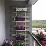 Küçük Balkon Dekorasyonu İçin Örnekler 95