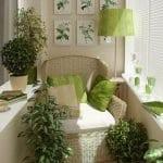 Küçük Balkon Dekorasyonu İçin Örnekler 97