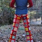 Örgü Pantolon Modelleri 10