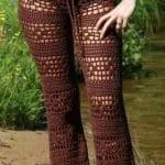 Örgü Pantolon Modelleri 26