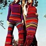 Örgü Pantolon Modelleri 43