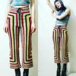 Örgü Pantolon Modelleri 4