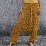 Örgü Pantolon Modelleri 8