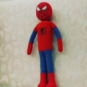 Amigurumi Spiderman Örümcek Adam 1