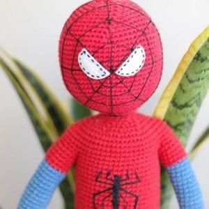 Amigurumi Spiderman Örümcek Adam 2