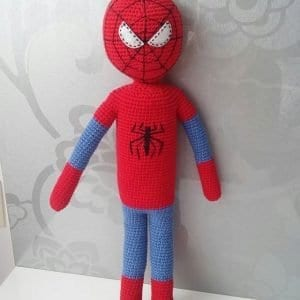 Amigurumi Spiderman Örümcek Adam