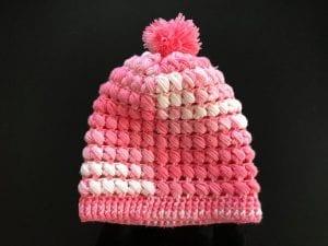 Çapraz Fıstıklı Şapka Yapılışı