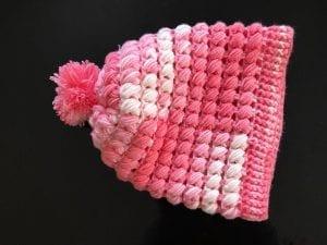 Çapraz Fıstıklı Şapka Yapılışı 3