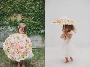 Çiçekli Şemsiye Yapılışı 4