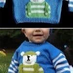 Erkek Bebek Örgü Modelleri 105