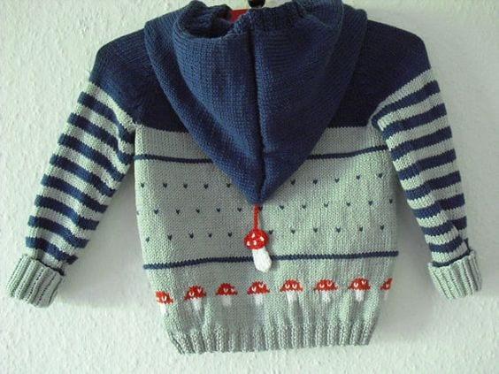 Erkek Bebek Örgü Modelleri 116