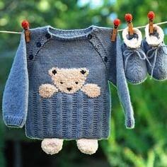 Erkek Bebek Örgü Modelleri 20