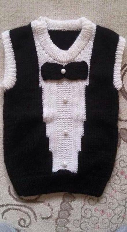 Erkek Bebek Örgü Modelleri 3