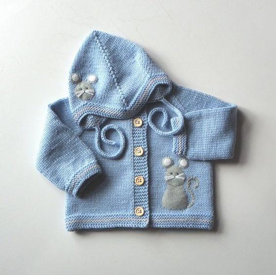 Erkek Bebek Örgü Modelleri 74