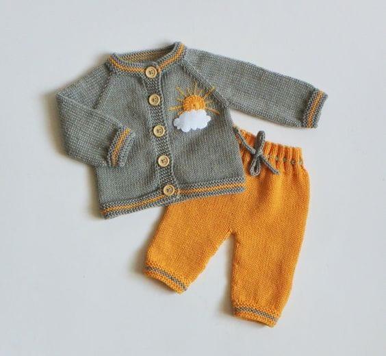 Erkek Bebek Örgü Modelleri 87