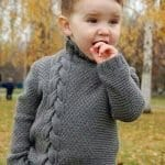 Erkek Bebek Örgü Modelleri 8