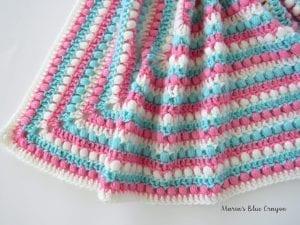 Fıstıklı Bebek Battaniyesi Örneği 1