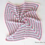 Fıstıklı Bebek Battaniyesi Örneği 2