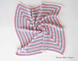 Fıstıklı Bebek Battaniyesi Örneği