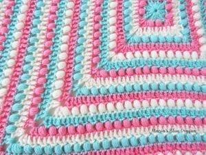 Fıstıklı Bebek Battaniyesi Örneği 3