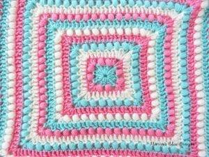 Fıstıklı Bebek Battaniyesi Örneği 4