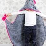 Kapşonlu Bebek Battaniyesi Yapılışı 9