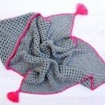 Kapşonlu Bebek Battaniyesi Yapılışı 3