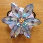 Kristal Boncuklu Çiçekli Kolye 50