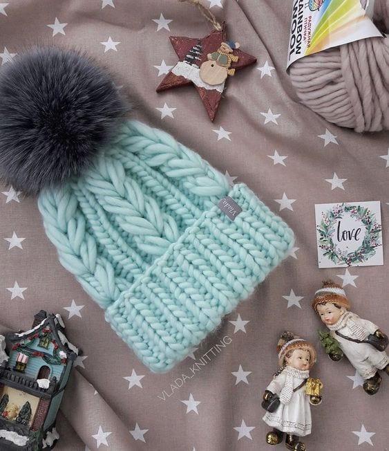 Örgü Atkı Şapka Modelleri 99