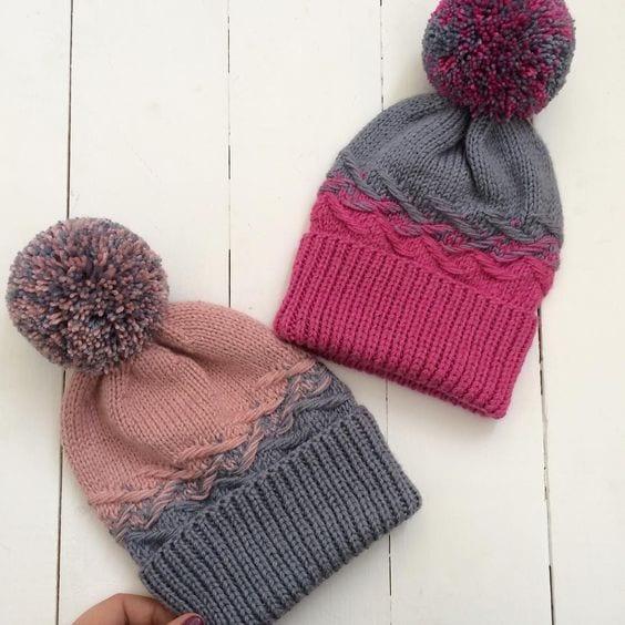 Örgü Atkı Şapka Modelleri 123