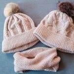 Örgü Atkı Şapka Modelleri 43